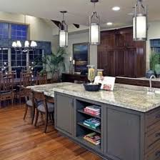 Best Kitchen Islands With Attached Tables Images On Pinterest - Kitchen island with table attached
