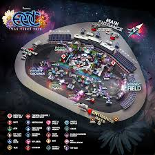 Google Maps Las Vegas Nv by Edc Las Vegas 2015 Map Released Insomniac
