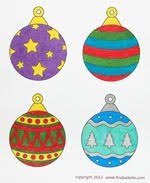 printable christmas tree ornaments craft kids u0027 crafts