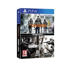 siege de jeux pack 2 jeux rainbow six siege the division ps4 sur playstation