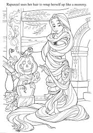 rapunzel halloween coloring pages u2013 festival collections