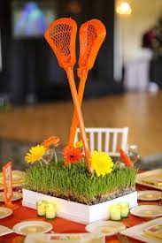 Basketball Centerpieces Lacrosse Theme Bar And Bat Mitzvah Ideas Jew It Up