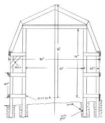 How To Build A Pole Barn Shed by 25 Free Garden Shed Plans