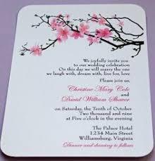 cherry blossom wedding invitations vintage rustic cherry blossom wedding invitations and matching