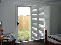 Patio Door Security Shutters Shutters On Patio Door Exterior Sliding Doors Plantation Shutters