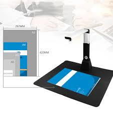 scanner de bureau rapide prix netum sd2000 mini a3 10 mega document livre photo id scanner
