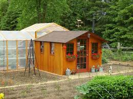 Garden Shed Greenhouse Plans Go Green With A Garden Shed Greenhouse My Shed Building Plans