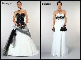 robe de mariã e grise et blanche robes de mariées et blanche organisez votre mariage ou