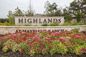 the highlands at mayfield ranch neighborhood round rock texas