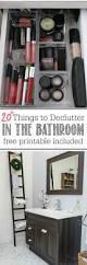 best 25 bathroom declutter ideas on pinterest bathroom sink 20 things to declutter from the bathroom