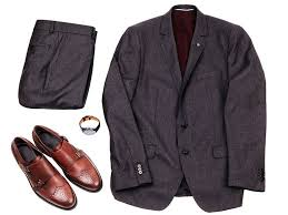 light gray suit brown shoes what to wear with brown shoes suit color combinations