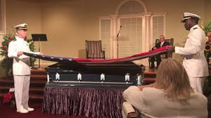 Military Funeral Flag Presentation Flag Presented At Funeral Youtube