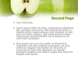 ripe apple powerpoint template backgrounds 00974