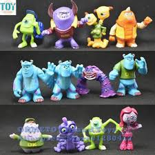 monsters inc cake toppers new 12pcs monsters inc monsters mike sully randall