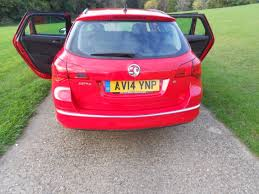 volkswagen vauxhall used red vauxhall astra for sale hertfordshire