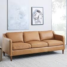 Sofa Sets Leather Hamilton Leather Sofa 81 West Elm