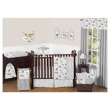 woodland animals baby bedding sweet jojo designs woodland animals collection target