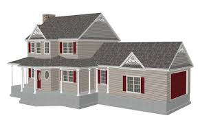 large roof 7 12 small gables 10 12 pitch sds plans
