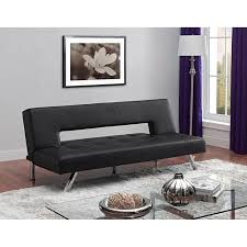 buy bailey premium pillow top futon black in cheap price on