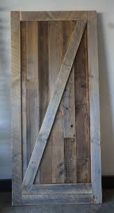 Wooden Barn Door by Reclaimdiy U2014 The Wesee Collective