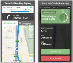 Map Qust Mapquest App Finds Relevance Again With Beautiful Ios 7 Redesign