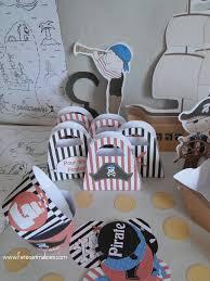 deco table marin un anniversaire pirate idée déco kit à imprimer fêtes u0026 malices