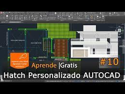 tutorial autocad hatch youtube