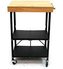 oasis island kitchen cart amazon com oasis concepts all wood all purpose folding island