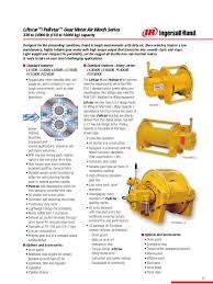 Tranzporter Hoist by Airwinch Catalog 10 Tons Automatic Transmission Engines