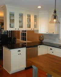 how to install peninsula kitchen cabinets overhead cabinets above island or peninsula