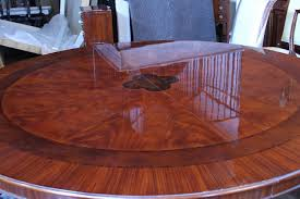 lovely extra large round dining room tables in diy gallery