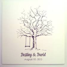 tree signing for wedding 35 best weddings thumbprint trees images on