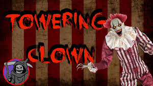 towering clown prop spirit halloween youtube