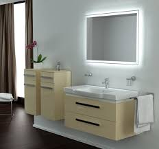 Bathroom Cabinet With Lights Led Lights For Mirrors 58 Stunning Decor With Image Of Bathroom