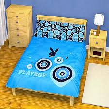 Playboy Duvet Covers Playboy Blue King Size Quilt Doona Cover Set Buy N Save Pty Ltd