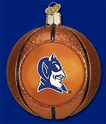 ncaa duke blue devils mascot ornament decorative