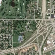 map of tulsa satellite map of tulsa ok satellite images of