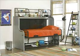 bunk beds with a futon on the bottom roselawnlutheran