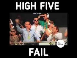 High Five Meme - high five fail montage youtube