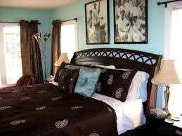 accessories blue and brown bedroom decorating ideas blue and