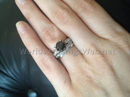 how to wear wedding ring set how to wear wedding rings wedding ideas photos gallery