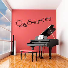 sing your song wall quote decal sing your song wall decal quote