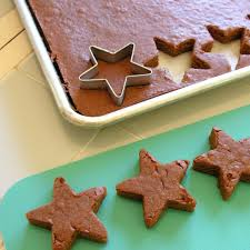cookie cutter brownies easybaked