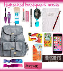 high school stuff everything you need as a highschool girl created by