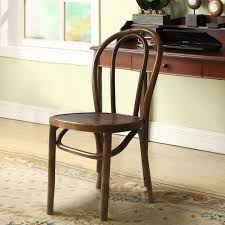 Vintage Bistro Chairs Wood Antique Bistro Brown Dining Chair