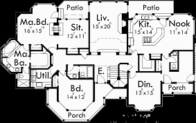 luxury master suite floor plans luxury house plans floor master bedroom 9985