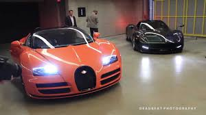 koenigsegg vancouver 4 million dollar roll out bugatti veyron vitesse pagani huayra