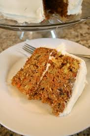 carrot cake with cream cheese icing plenty sweet life