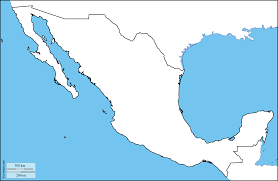 Map Of Mexico by Outline Map Of Mexico Wallpaper Download Cucumberpress Com