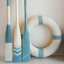 decorating with boat oars and as i find paddles and oars for the
